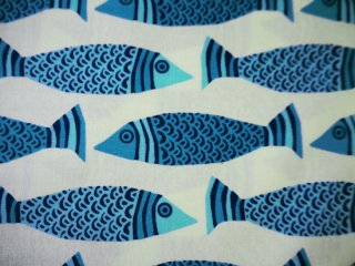 TIDE POOL / FISH / MARINE  by Moda Fabrics