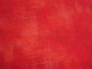 赤色グランジ生地・クリスマス生地 BERRY MERRY GRUNGE / MERRY SCARLET  by Moda Fabrics