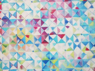 modafabrics カラフルなデジタルプリント生地   GRADIENTS� / TRIANGLES / SPLASH