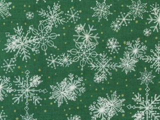 <img class='new_mark_img1' src='//img.shop-pro.jp/img/new/icons11.gif' style='border:none;display:inline;margin:0px;padding:0px;width:auto;' /> modafabrics ◇ SPLENDID ◇ SNOWFLAKES / PINE ◇ 雪の結晶 ◇ クリスマス◇