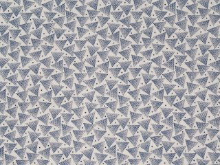 modafabrics ◇ INDIGO GATHERINGS / PYRAMID / MOON◇綿100%シーチング生地