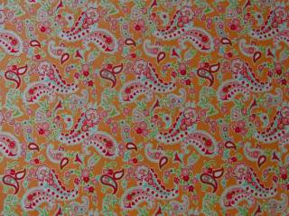 SCRUMPTIOUS/PAISLEY/ORANGE