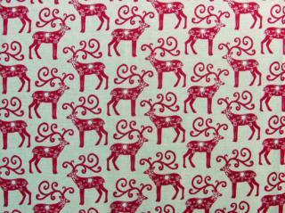 Scandi Christmas / Red Reindeer