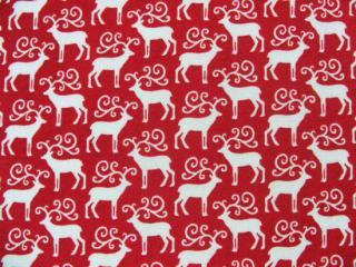 Mini Novelty Christmas /  Red Reindeer