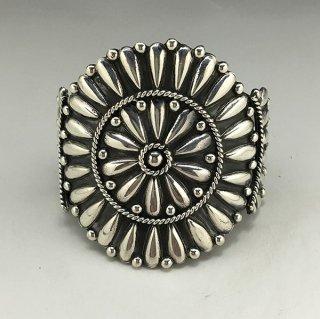 Navajo Melvin Francis Silver Cluster Bracelet