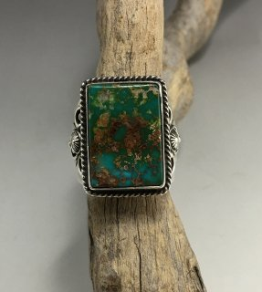 Navajo Fritson Toledo Natural Royston Turquoise Ring