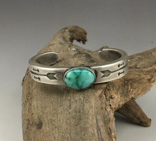 Randy'Bubba' Shackelford Cheyenne Turquoise Cuff Bracelet