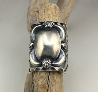 Navajo Delbert Gordon Silver Ring