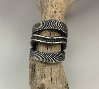 Hopi Antone Honanie Tufacast Ring