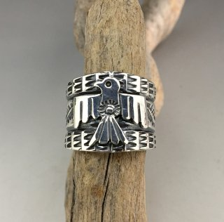 Navajo Sunshine Reeves Thunderbird Ring