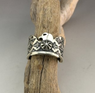 Navajo Bo Reeves Thunderbird Ring