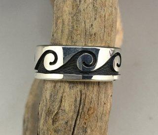 Hopi Weaver Selina Overlay Ring