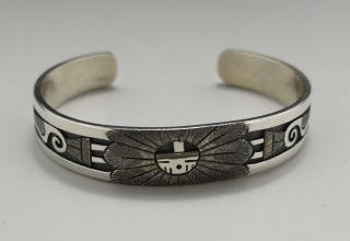 Hopi Ronald Wadsworth Overlay Bracelet