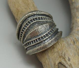 Navajo Harrison Jim Tufa Cast Ring