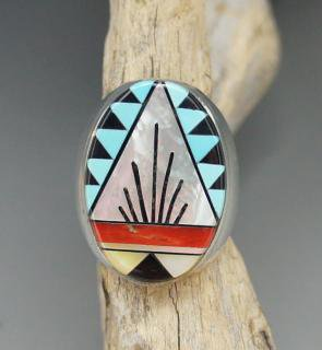 Zuni Cleo Kallestewa Inlay Ring