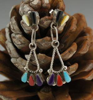Zuni Multi Color Earrings