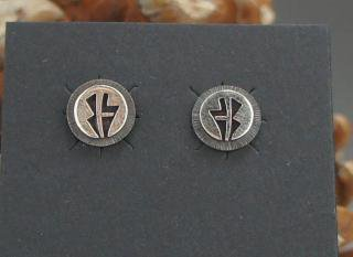 Hopi Overlay Earrings
