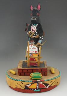 Hopi Black Bear Kachina (Katsina)