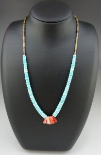 Santo Domingo Heishi Necklace