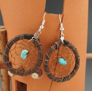 Navajo Dream Catcher Earrings