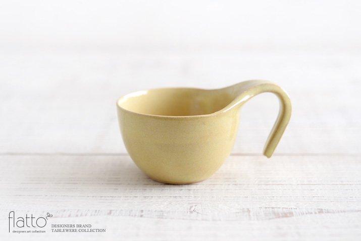 テトラ コーヒーカップ(黄) 作家「トキノハ」