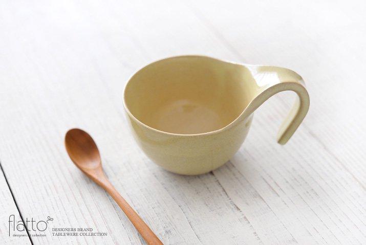 テトラ コーヒーカップ(黄) 作家「トキノハ」-02