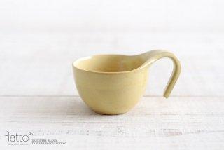 トキノハ|テトラ コーヒーカップ(黄)|和食器