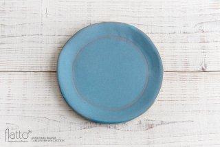 トキノハ|テトラ プレートL(青)|和食器