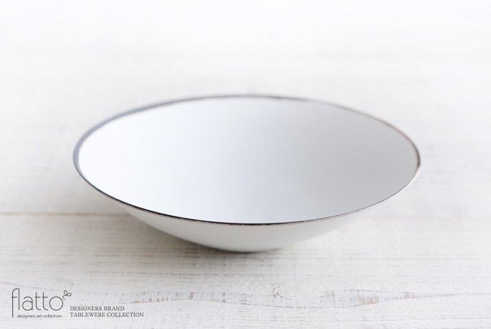 古白磁 口銅彩鉢 作家「水野幸一」