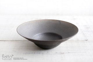 銅彩釉 リム鉢(大) 作家「水野幸一」