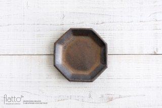 中川雅佳|金釉 八角取皿|和食器