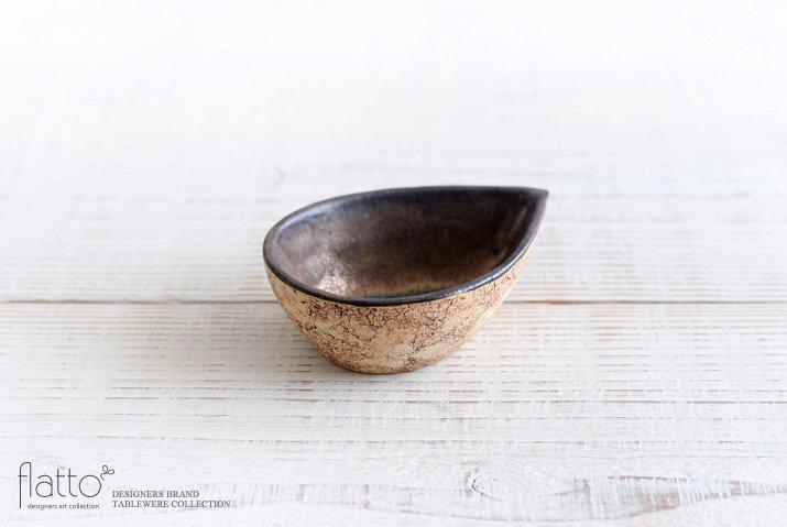 中川雅佳|コルク しずく豆鉢(内金)