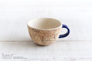 コルク スープカップ(青) 作家「中川雅佳」