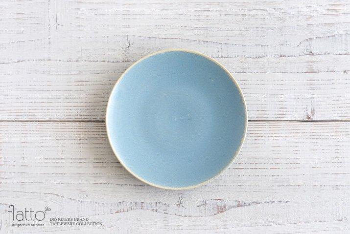 トキノハ|calm 18cmプレート(ライトブルー)