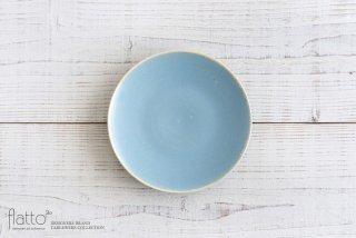トキノハ|calm 18cmプレート(ライトブルー)|中皿