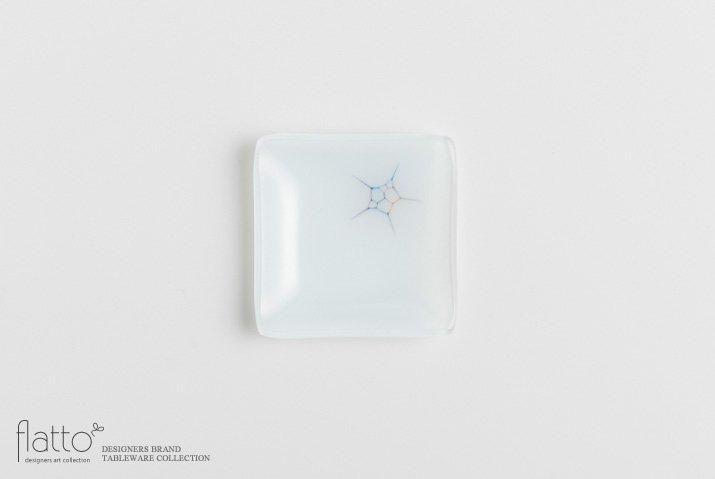 吉村桂子|イロサシ角皿(8cm角)