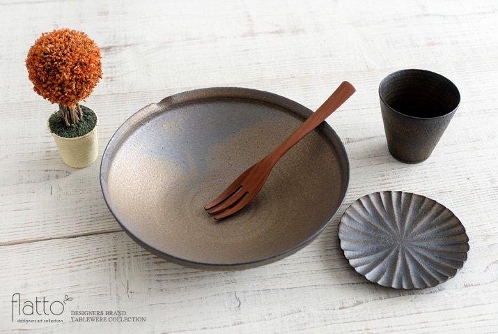 水野幸一|銅彩釉 片口鉢(大)-04