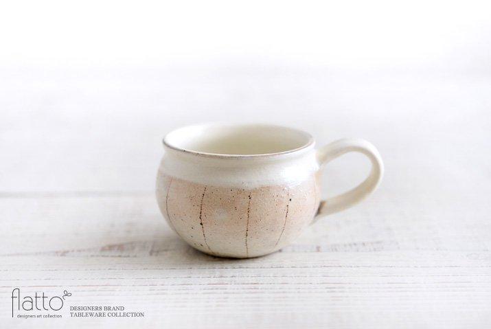 たて鉄線コーヒーカップ 作家「古谷浩一」