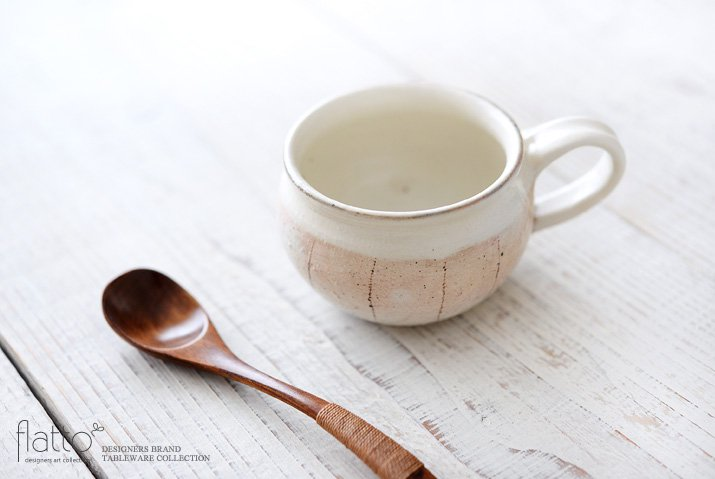 たて鉄線コーヒーカップ 作家「古谷浩一」-02