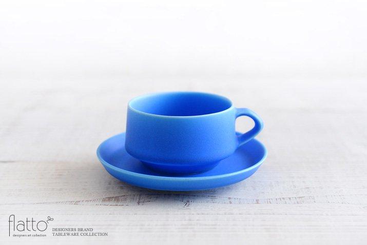 東一仁|ブルー カップ&ソーサー