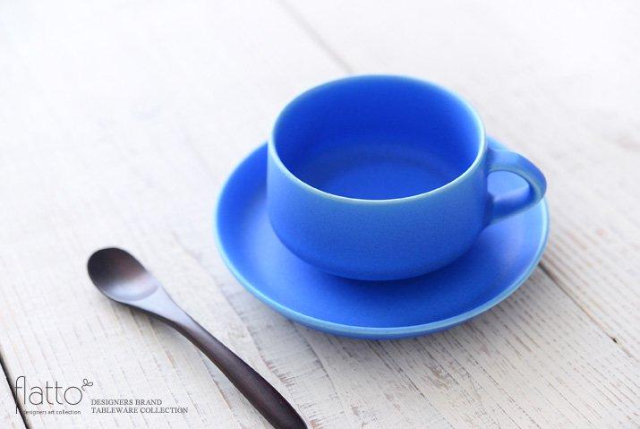 東一仁|ブルー カップ&ソーサー-02