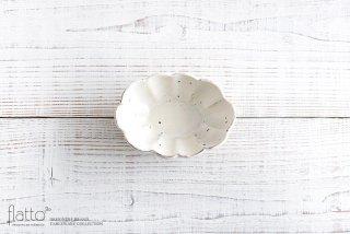 粉引 4.5寸楕円輪花深鉢 和食器作家「加藤祥孝」