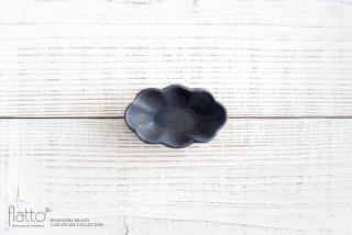 加藤祥孝|鉄釉 楕円輪花豆鉢