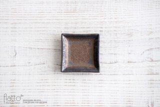 中川雅佳|金釉 正角豆皿