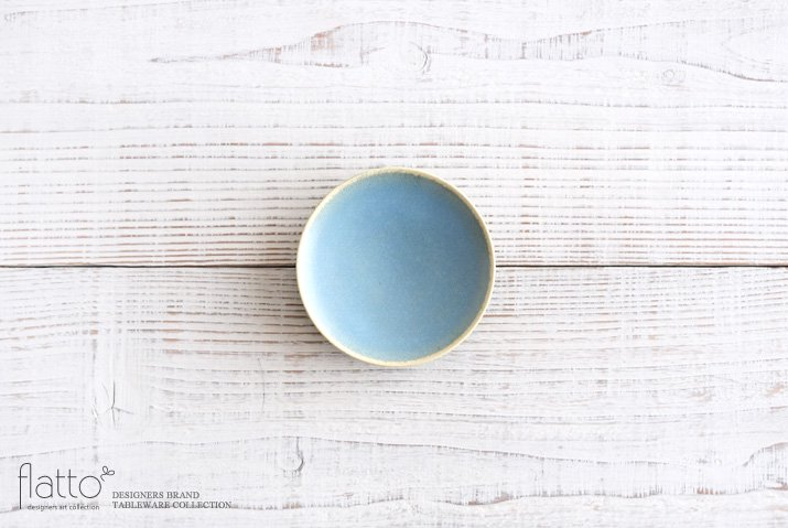 トキノハ|calm 10cmプレート(ライトブルー)