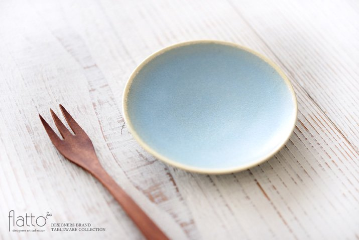 トキノハ|calm 10cmプレート(ライトブルー)-02