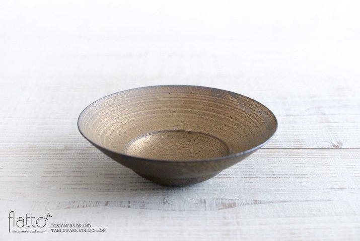水野幸一|銅彩釉 リム鉢(小)