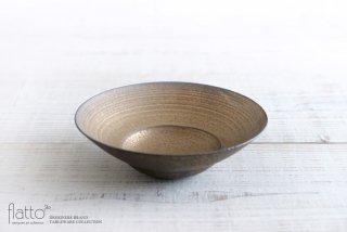 銅彩釉 リム鉢(小) 作家「水野幸一」