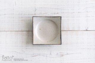 水野幸一|コッツウォルズ スクエアプレートS|小皿・豆皿|角皿