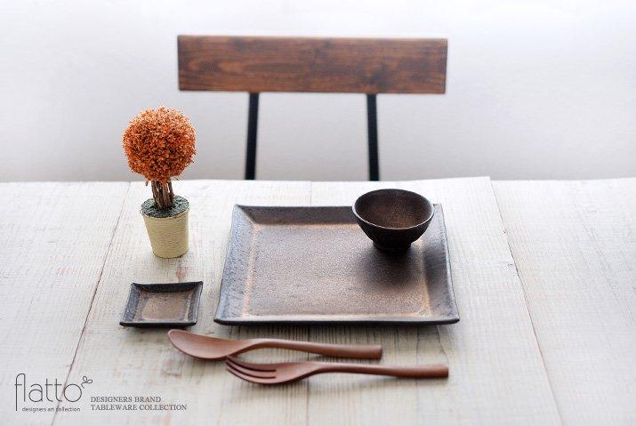 中川雅佳|金釉 22cm正角皿-03